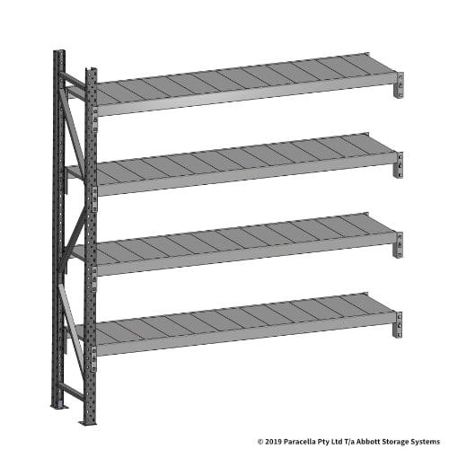 Open Span OS43640 2000H 1800W 450D Steel Shelf Panels Add-On