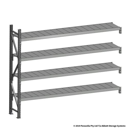 Open Span OS43660 2000H 2400W 450D Steel Shelf Panels Add-On
