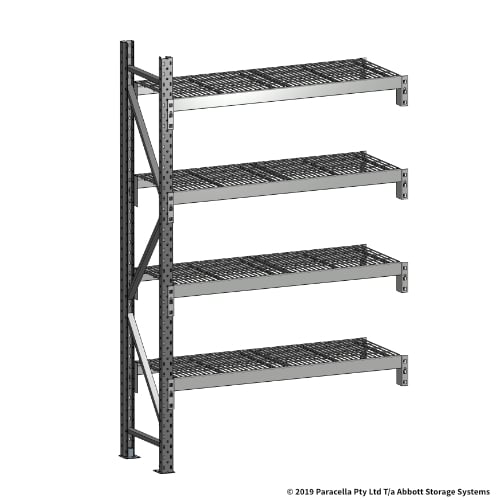 Open Span OS44620 2000H 1200W 450D Wire Shelf Panels Add-On