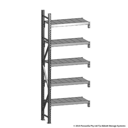 Open Span OS43679 2500H 900W 450D Steel Shelf Panels Add-On
