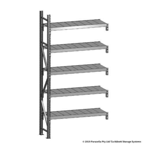 Open Span OS43680 2500H 1200W 450D Steel Shelf Panels Add-On
