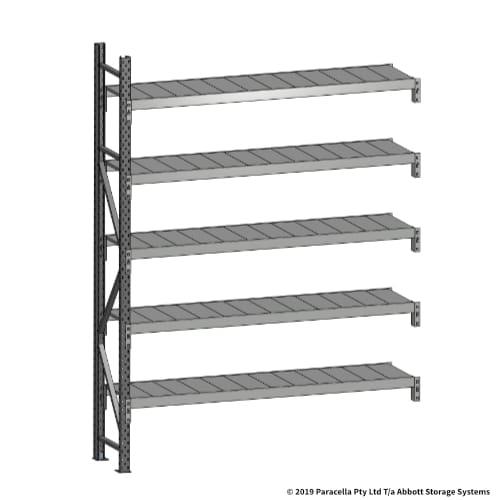 Open Span OS43700 2500H 1800W 450D Steel Shelf Panels Add-On