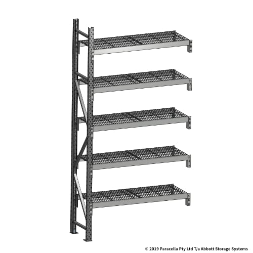 Open Span OS44680 2500H 1200W 450D Wire Shelf Panels Add-On