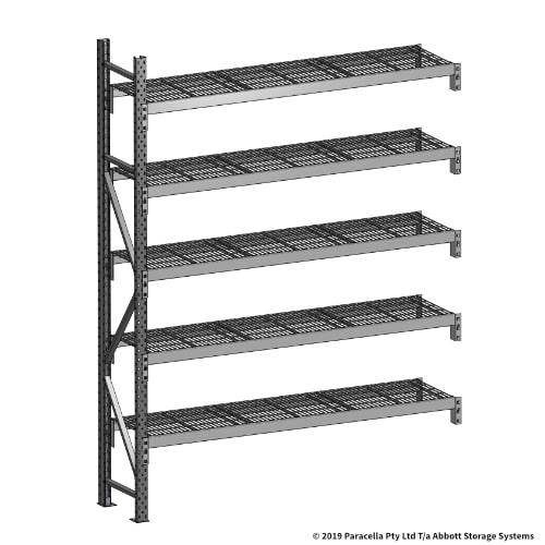 Open Span OS44700 2500H 1800W 450D Wire Shelf Panels Add-On