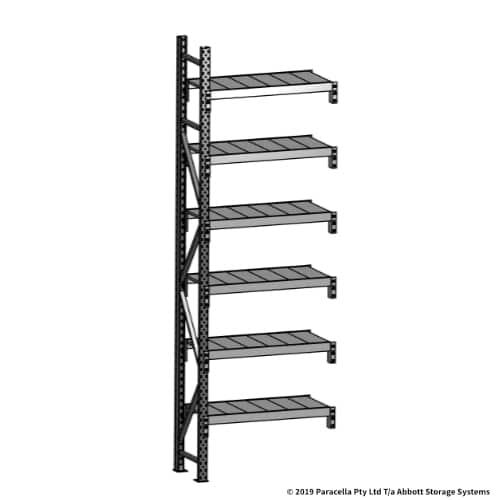 Open Span OS43719 3000H 900W 450D Steel Shelf Panels Add-On