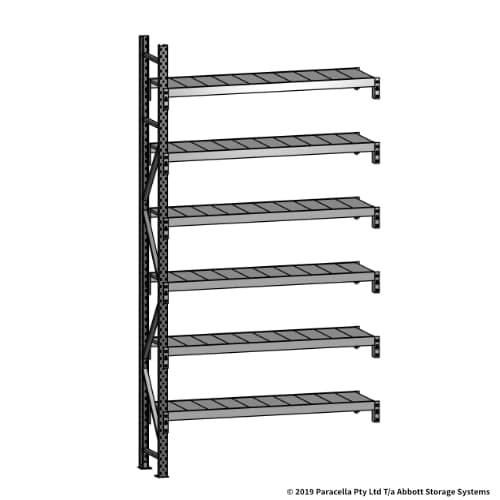 Open Span OS43741 3000H 1500W 450D Steel Shelf Panels Add-On