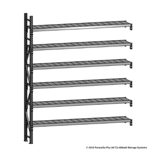 Open Span OS43780 3000H 2400W 450D Steel Shelf Panels Add-On