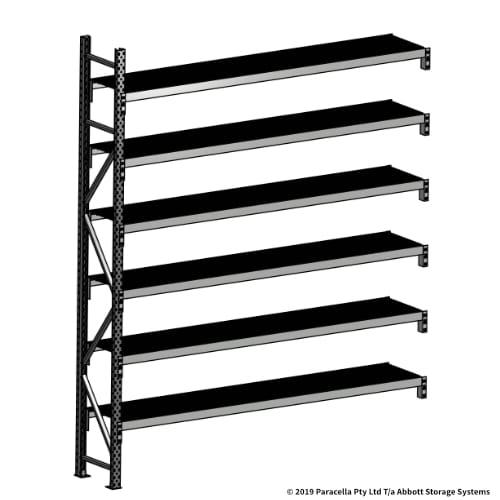 Open Span OS44780 3000H 2400W 450D Wire Shelf Panels Add-On