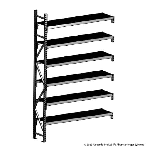 Open Span OS44760 3000H 1800W 450D Wire Shelf Panels Add-On