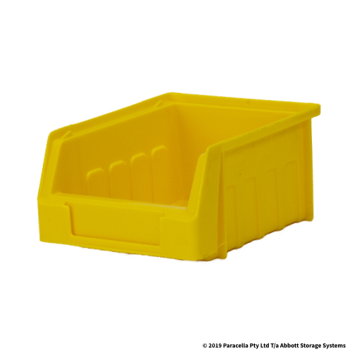 Metro 115D x 96W x 60H Yellow Parts Bin