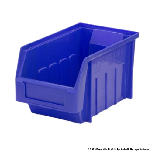 PL30110 Parts Bin Metro 130w x 225d x 125h Blue