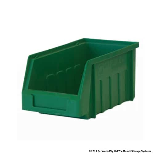 PL30090 Parts Bin Metro 96w x 165d x 85h Green
