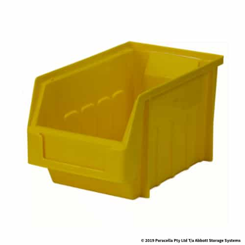 PL30130 Parts Bin Metro 130w x 225d x 125h Yellow