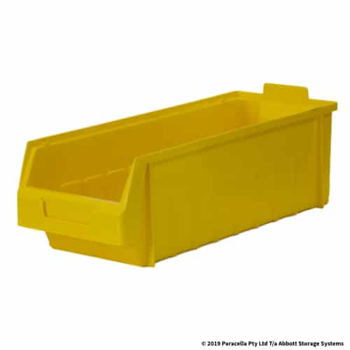 PL30280 Parts Bin Metro 180w x 435d x 145h Yellow