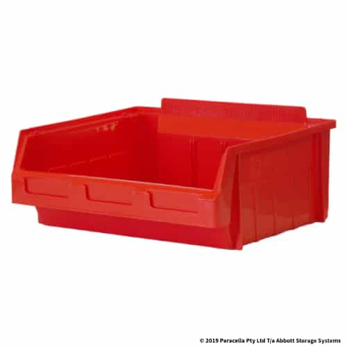 PL30220 Parts Bin Metro 365w x 285d x 145h Red