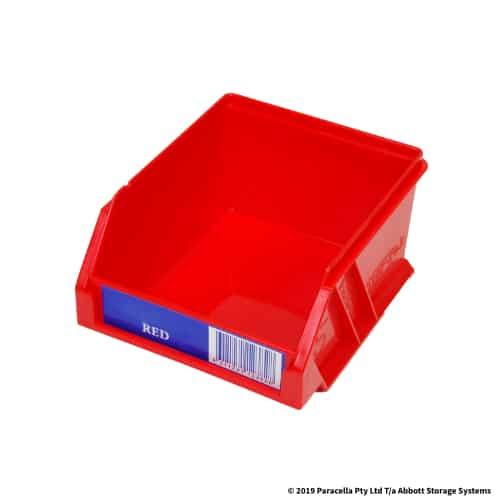 PL29020 Parts Bin Ultra 100w x 115d x 60h Red
