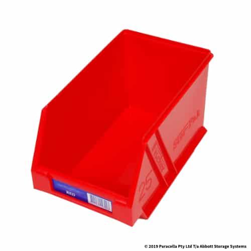 PL29120 Parts Bin Ultra 133w x 220d x 125h Red
