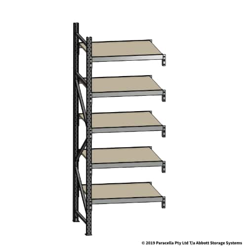 Open Span OS42039 2500Hx900Wx900D Add-On Bay