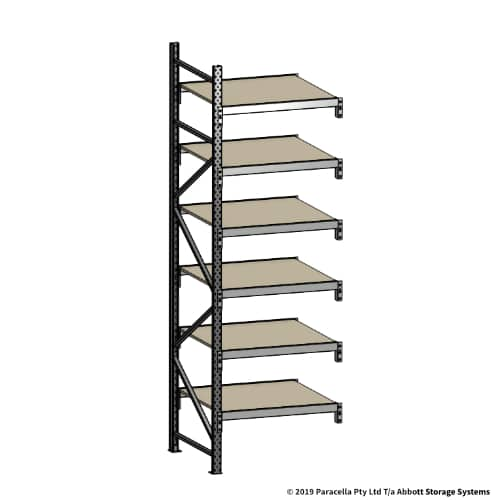 Open Span OS42099 3000H 900W 900D Particle Board Add-On Bay