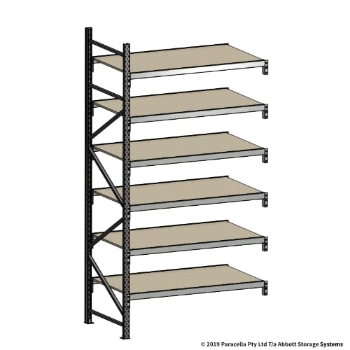 Open Span OS42102 3000H 1500W 900D Particle Board Add-On Bay