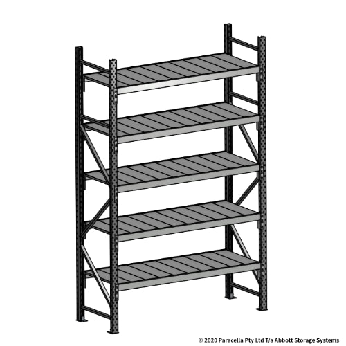 Open Span OS43851 2500H 1500W 600D Steel Shelf Panels Initial
