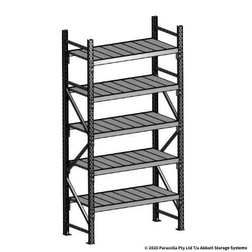 Open Span OS43850 2500H 1200W 600D Steel Shelf Panels Initial