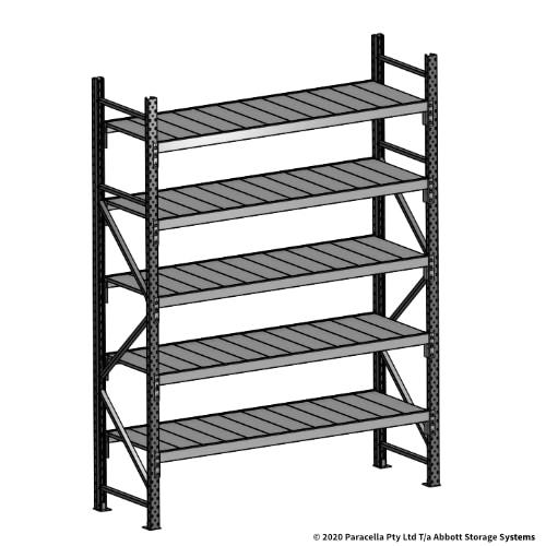 Open Span OS43870 2500H 1800W 600D Steel Shelf Panels Initial