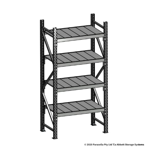 Open Span OS43789 2000H 900W 600D Steel Shelf Panels Initial