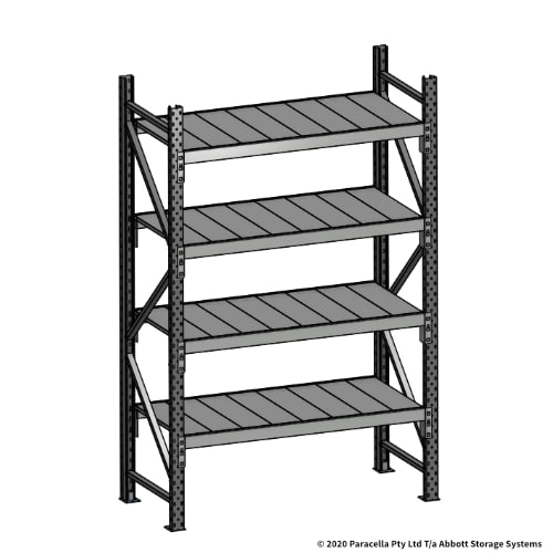Open Span OS43790 2000H 1200W 600D Steel Shelf Panels Initial