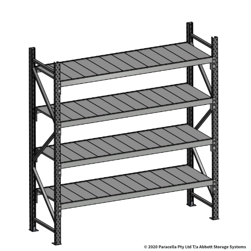 Open Span OS43810 2000H 1800W 600D Steel Shelf Panels Initial
