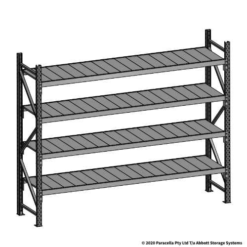 Open Span OS43830 2000H 2400W 600D Steel Shelf Panels Initial