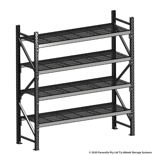 Open Span OS44810 2000H 1800W 600D Wire Shelf Panels Initial