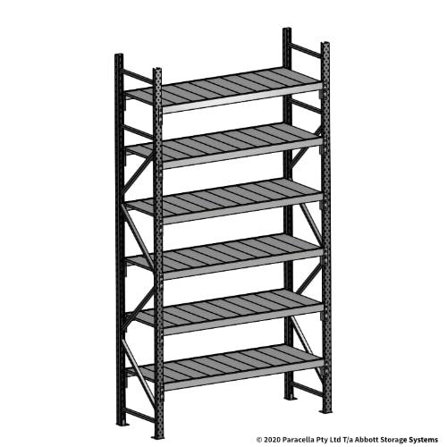 3000H 1500W 600D Steel Shelf Panels Initial