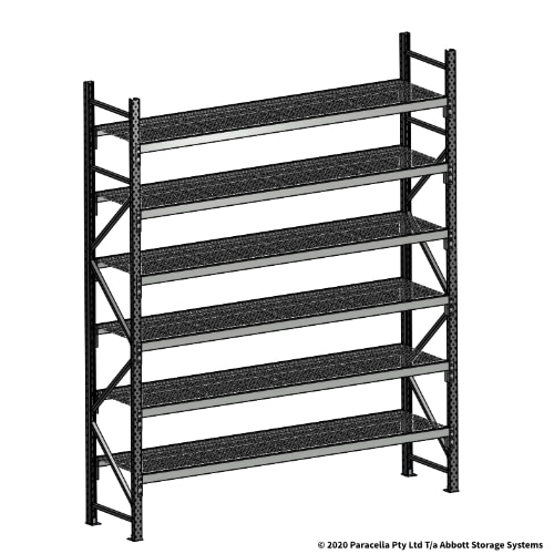 Open Span OS44950 3000H 2400W 600D Wire Shelf Panels Initial
