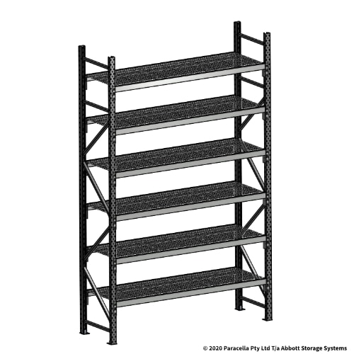Open Span OS44930 3000H 1800W 600D Wire Shelf Panels Initial