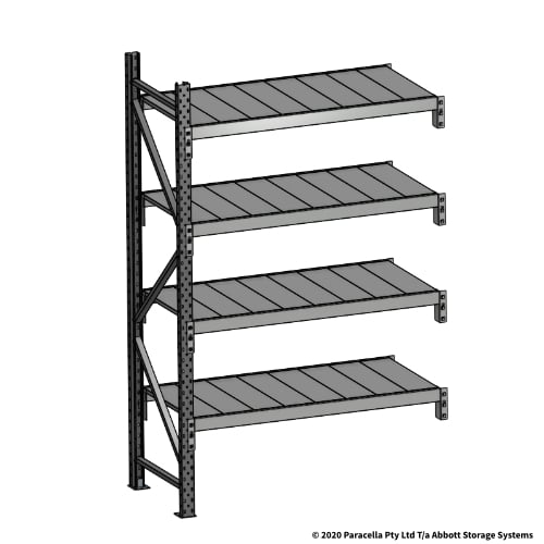 Open Span OS43800 2000H 1200W 600D Steel Shelf Panels Add-On