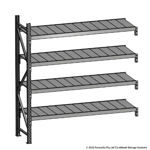 Open Span OS43820 2000H 1800W 600D Steel Shelf Panels Add-On