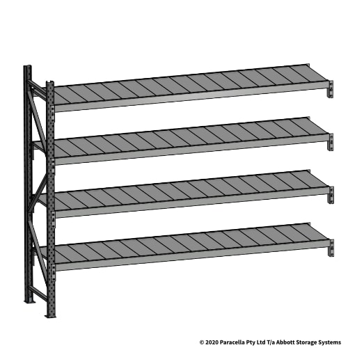 Open Span OS43840 2000H 2400W 600D Steel Shelf Panels Add-On