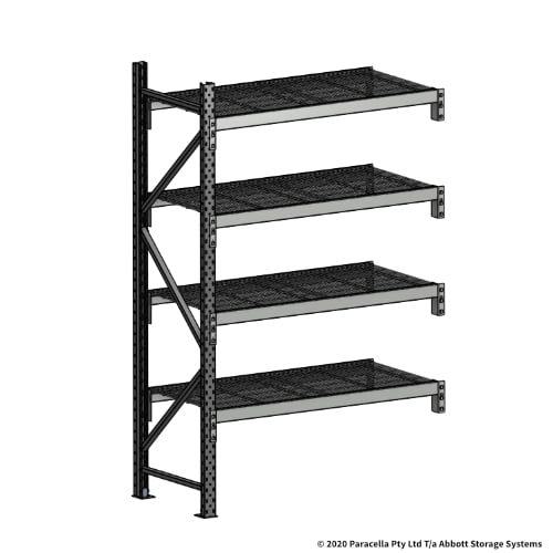 Open Span OS44800 2000H 1200W 600D Wire Shelf Panels Add-On