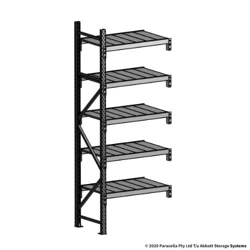 Open Span OS43859 2500H 900W 600D Steel Shelf Panels Add-On