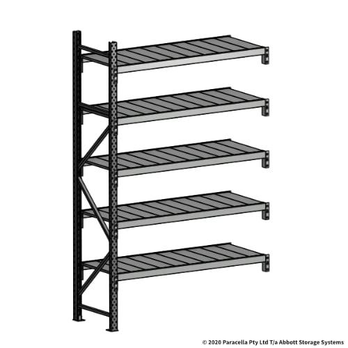 Open Span OS43861 2500H 1500W 600D Steel Shelf Panels Add-On