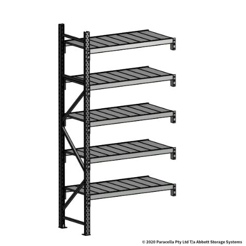 Open Span OS43860 2500H 1200W 600D Steel Shelf Panels Add-On