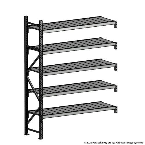 Open Span OS43880 2500H 1800W 600D Steel Shelf Panels Add-On