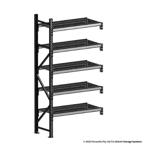 2500H 1200W 600D Wire Shelf Panels Add-On