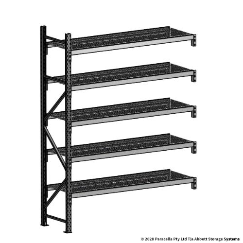 2500H 1800W 600D Wire Shelf Panels Add-On