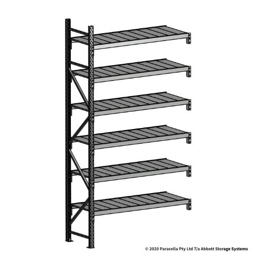 3000H 1500W 600D Steel Shelf Panels Add-On