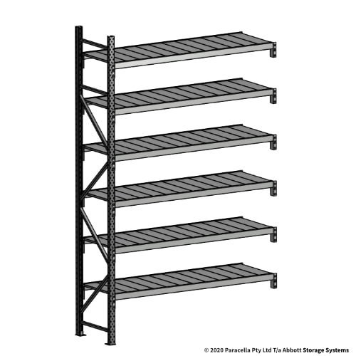 3000H 1800W 600D Steel Shelf Panels Add-On
