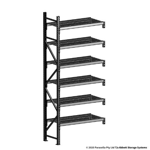 3000H 1200W 600D Wire Shelf Panels Add-On