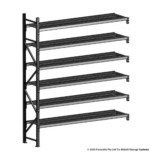 3000H 2400W 600D Wire Shelf Panels Add-On