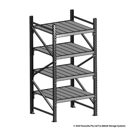Open Span OS43969 2000H 900W 900D Steel Shelf Panels Initial Bay